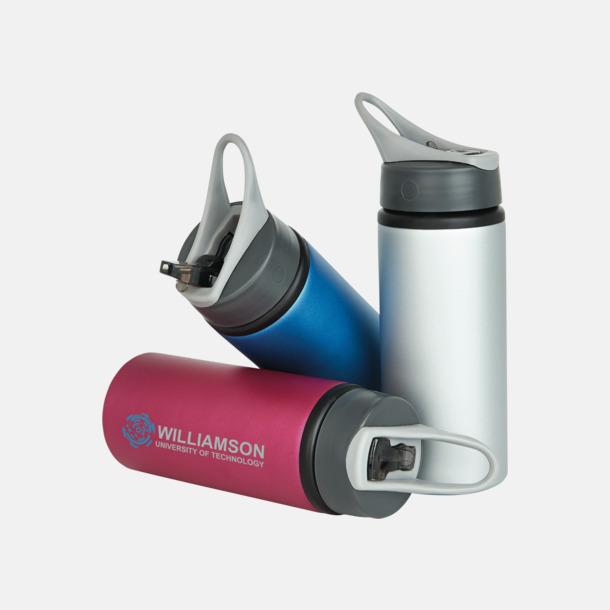 Med reklamlogo 60 cl vattenflaskor i aluminium med reklamtryck