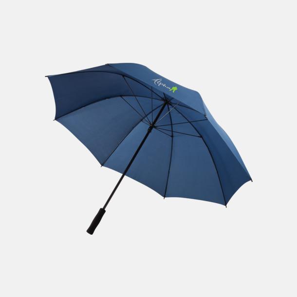 """Med reklamlogo 30"""" stormparaplyer med reklamtryck"""