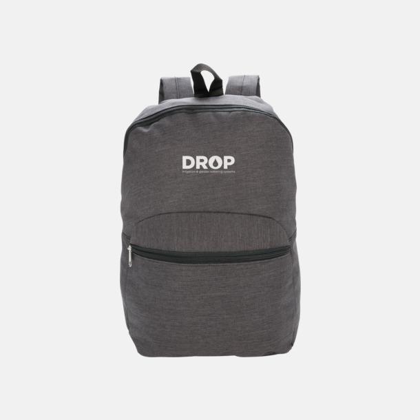 Med reklamlogo Tvåtonade ryggsäckar med reklamtryck