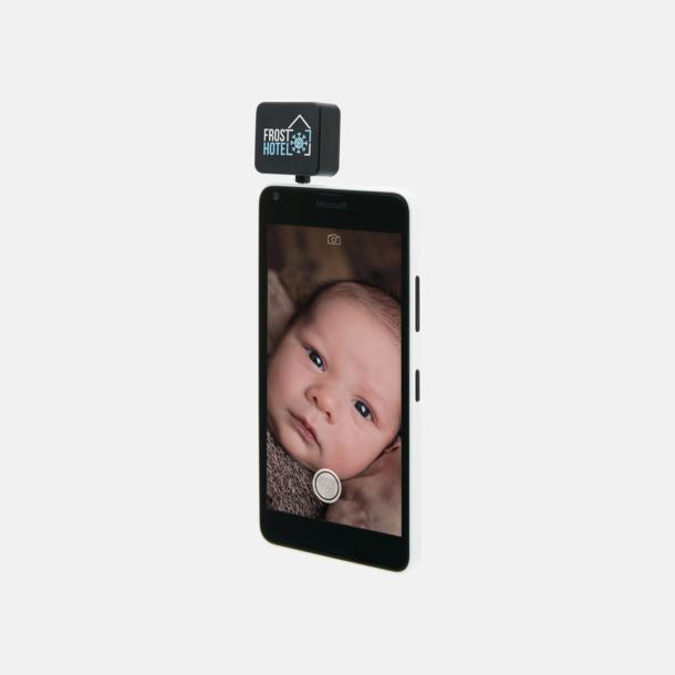 Med reklamlogo Lampor för mobilen med reklamtryck