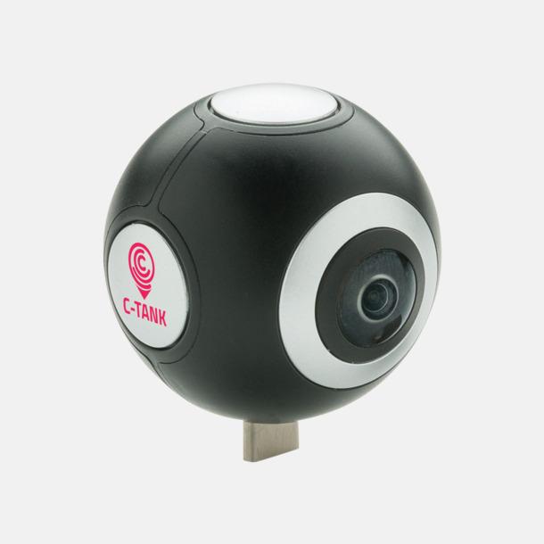 Med reklamlogo 360° kamera med reklamtryck