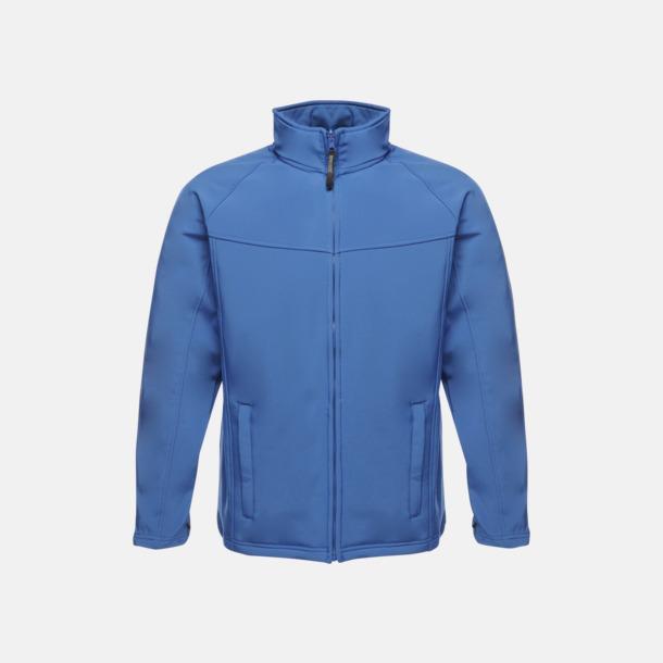 Royal Blue/Seal Grey (herr) Soft-shell jackor i herr- & dammodell med reklamtryck