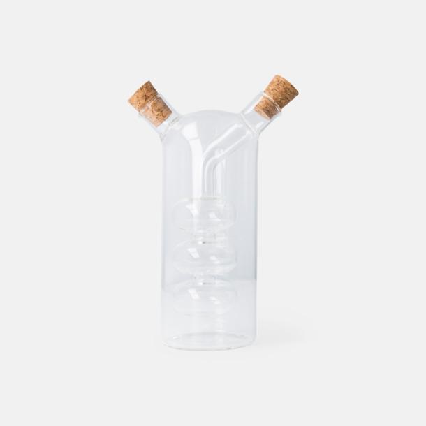 Glasflaskor för vinäger & olja - med reklamtryck