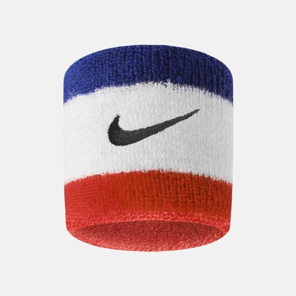 Habanero Red/Svart Armsvettband från Nike med reklamlogo