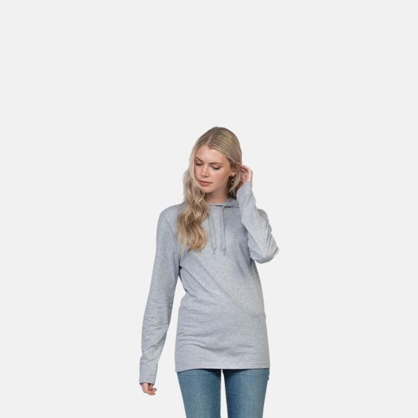 Huvtröjor i t-shirt design med reklamtryck