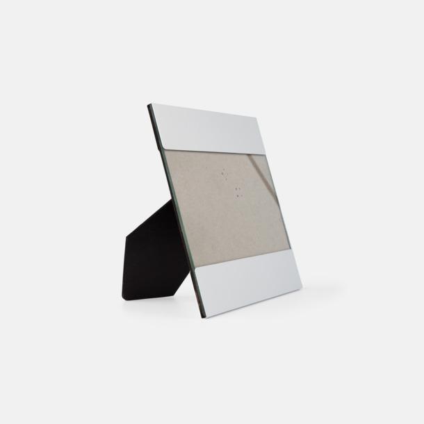 Kvadratiska fotohållare med reklamlogo