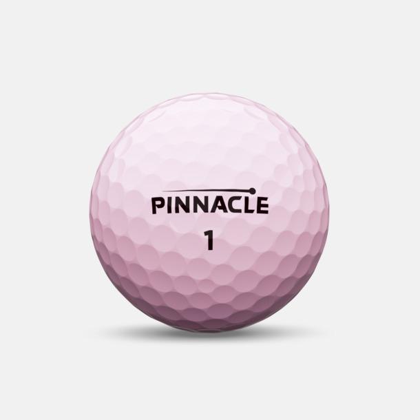 Rosa Golfbollar från Pinnacle RUSH med reklamtryck
