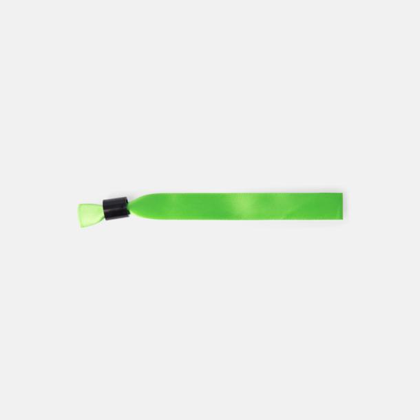 Ljusgrön Färgstarka festivalarmband med reklamtryck