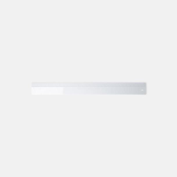 Linjaler i olika längder med reklamtryck