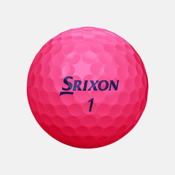 Passion Pink Beställ golfbollar från Srixon med reklamtryck