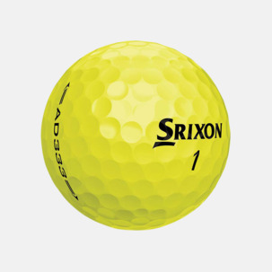 Golfbollar från Srixon med reklamtryck
