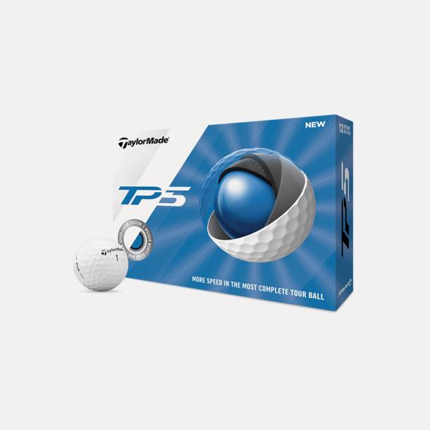 Kartong Taylor Made TP5 golfbollar med reklamtryck