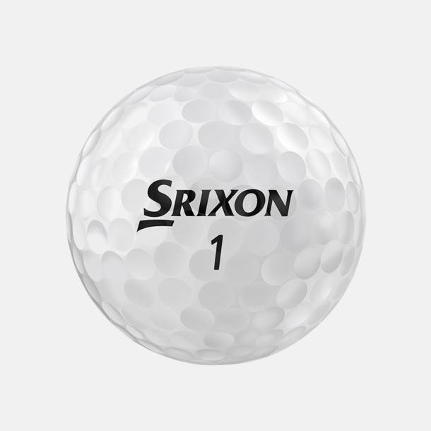 Pure White Z-Star golfbollar från Srixon med reklamtryck