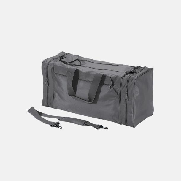 Graphite Grey Superstora sportbagar med reklamtryck