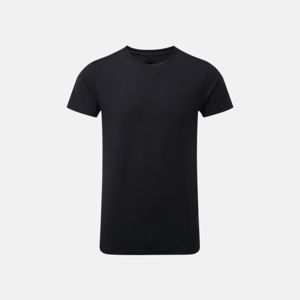 Svart (herr) Färgstarka t-shirts i herr- och dammodell med reklamtryck