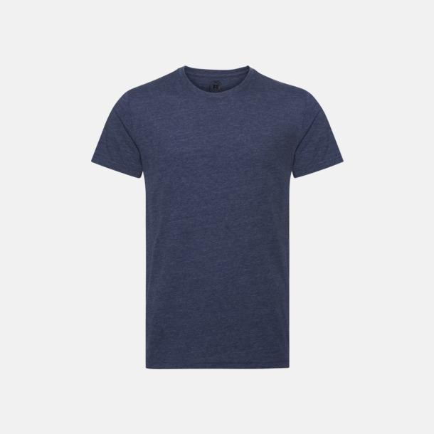 Bright Navy Marl (herr) Färgstarka t-shirts i herr- och dammodell med reklamtryck