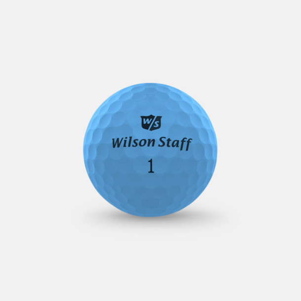 Optix Blue Wilson Staff Logobollar med tryck