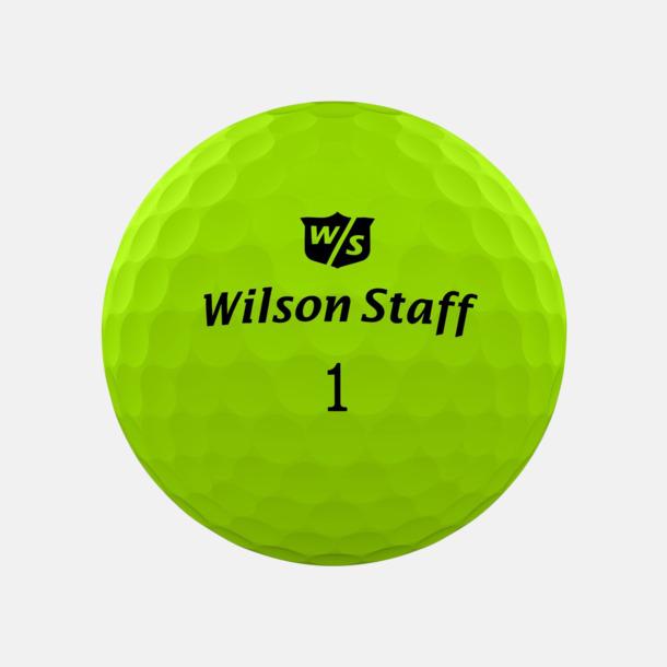 Green matte Wilson Staff Logobollar med tryck