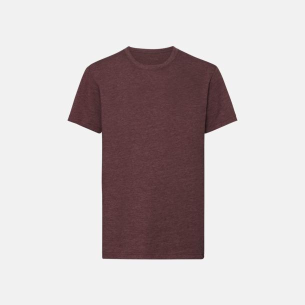 Maroon Marl (pojke) Barn t-shirts i u- och v-hals med reklamtryck