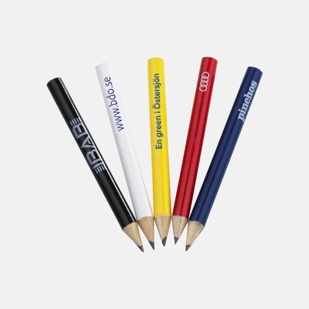 Scorepenna utan sudd Scorepenna i trä med reklamtryck
