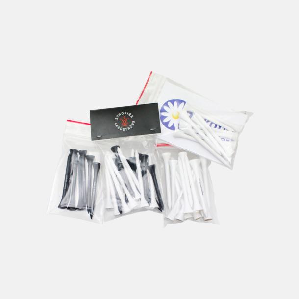Zippåsar (inkl. pappersryttare/utan ryttare) Se tillval Peggar i trä - med reklamtryck
