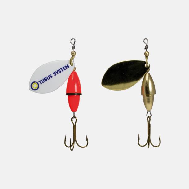 Fiskedrag med reklamtryck