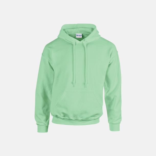 Mint Green (vuxen) Vuxen- & barn hoodies med reklamtryck
