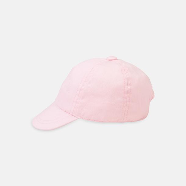 Pale Pink Kepsar för de allra minsta - med reklamlogo
