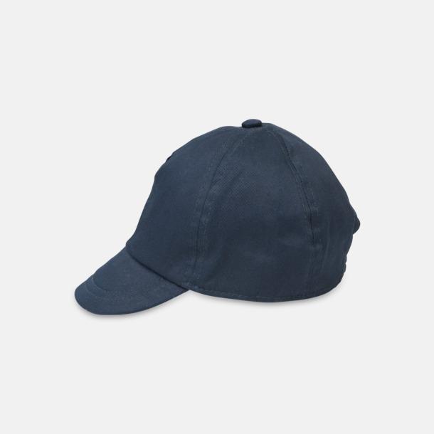 Marinblå Kepsar för de allra minsta - med reklamlogo