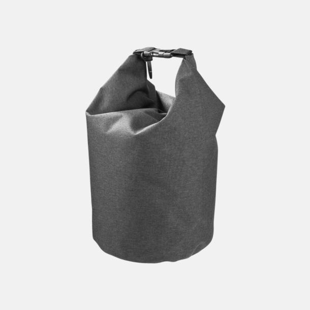 Heather Charcoal 5 l vattentäta outdoorbags med reklamtryck