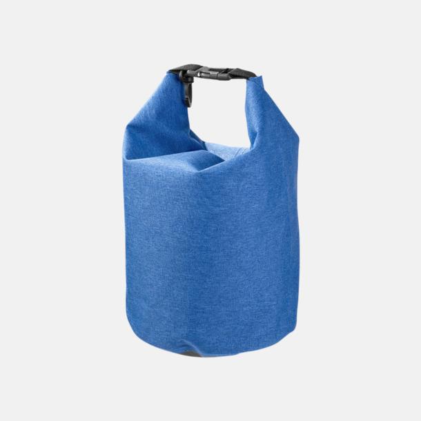 Heather Blue 5 l vattentäta outdoorbags med reklamtryck
