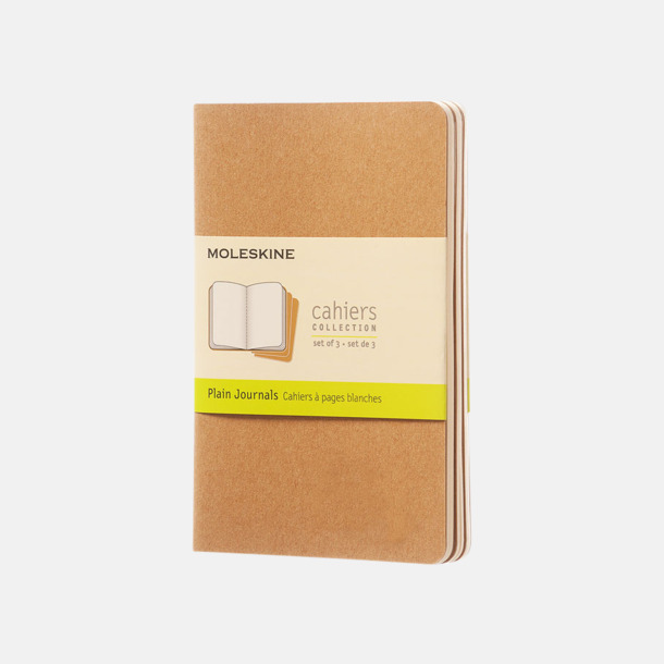 Kraft Brown (plain) A6-anteckningsböcker från Moleskine med reklamtryck