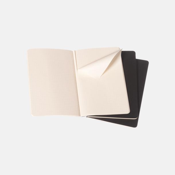 Rutade sidor (squared) A6-anteckningsböcker från Moleskine med reklamtryck