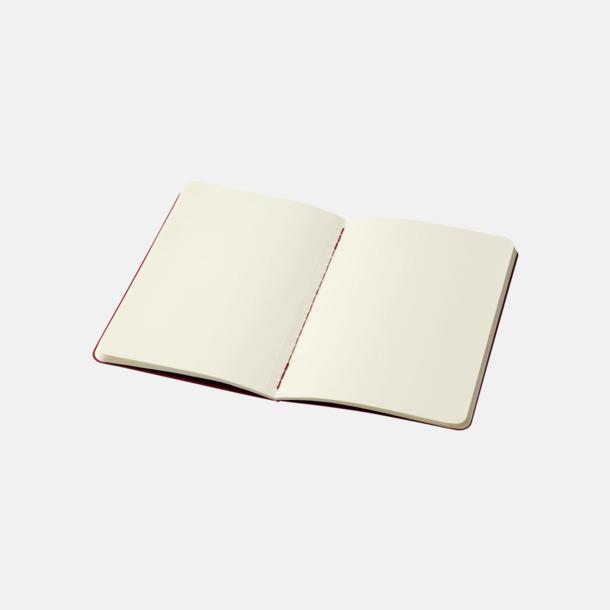 Blanka sidor (plain) A6-anteckningsböcker från Moleskine med reklamtryck