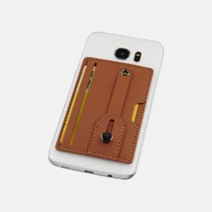 Remförsedd mobilplånbok med RFID-skydd med reklamtryck