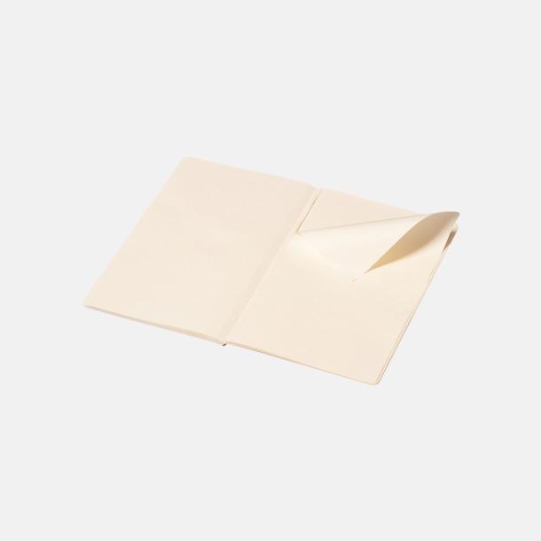 Blanka sidor (plain) Fina, stora anteckningsböcker från Moleskine med reklamtryck