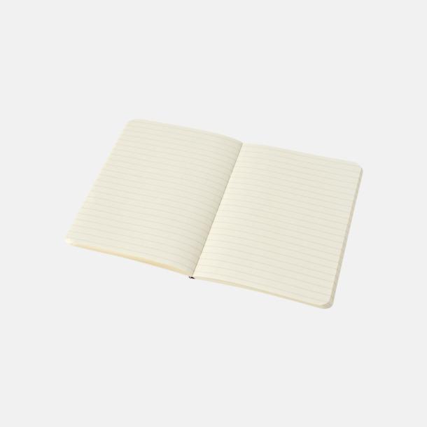 Linjerade sidor (ruled) Fina anteckningsböcker från Moleskine med reklamtryck