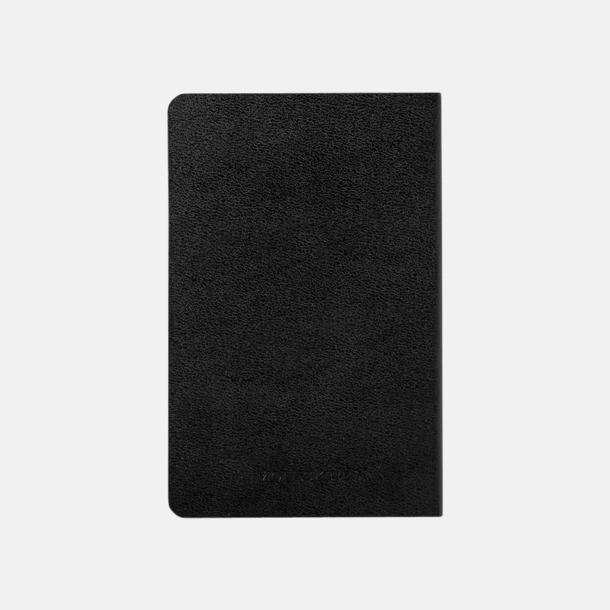 Baksida Fina anteckningsböcker från Moleskine med reklamtryck