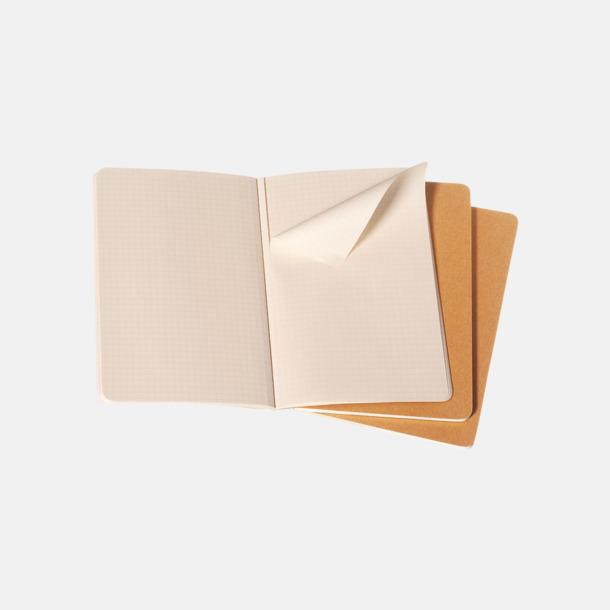 Rutade sidor (squared) A5-anteckningsböcker från Moleskine med reklamtryck