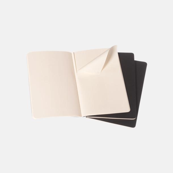 Blanka sidor (plain) A5-anteckningsböcker från Moleskine med reklamtryck