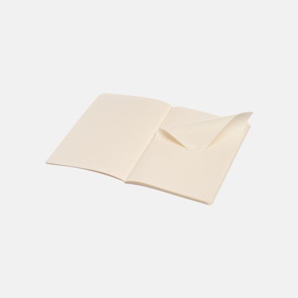 Linjerade sidor (ruled) Fina, små anteckningsböcker från Moleskine med reklamtryck
