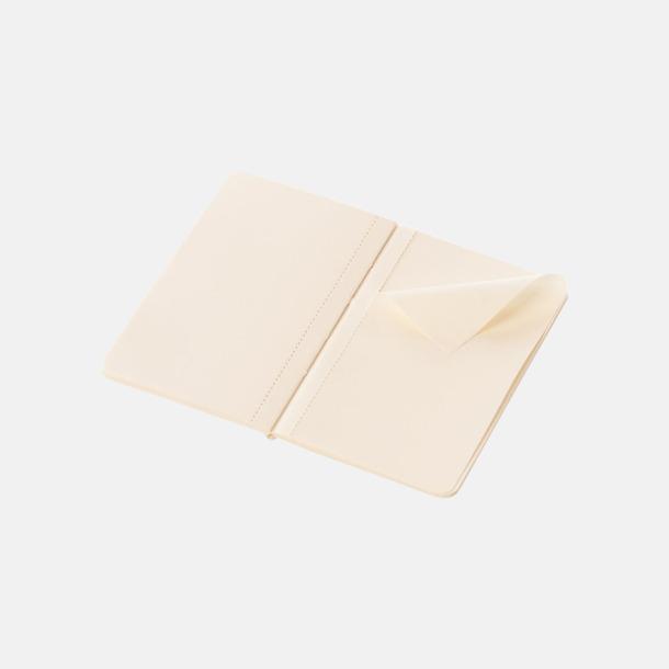 Blanka sidor (plain) Fina, små anteckningsböcker från Moleskine med reklamtryck