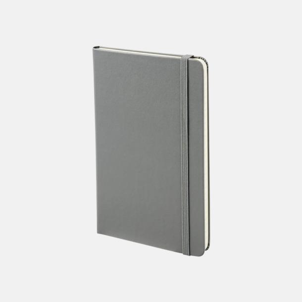 Slate Grey Medelstora anteckningsböcker (ca B6) från Moleskine med reklamtryck