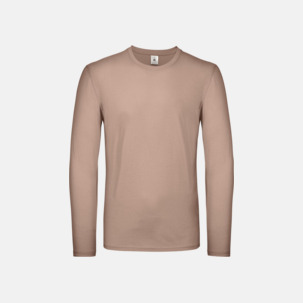 Fina, långärmade kvalitets bas t-shirts med reklamtryck