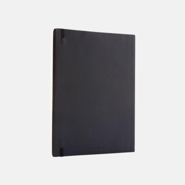 Moleskine extra stora, mjuka notisböcker i 4 utföranden med reklamtryck