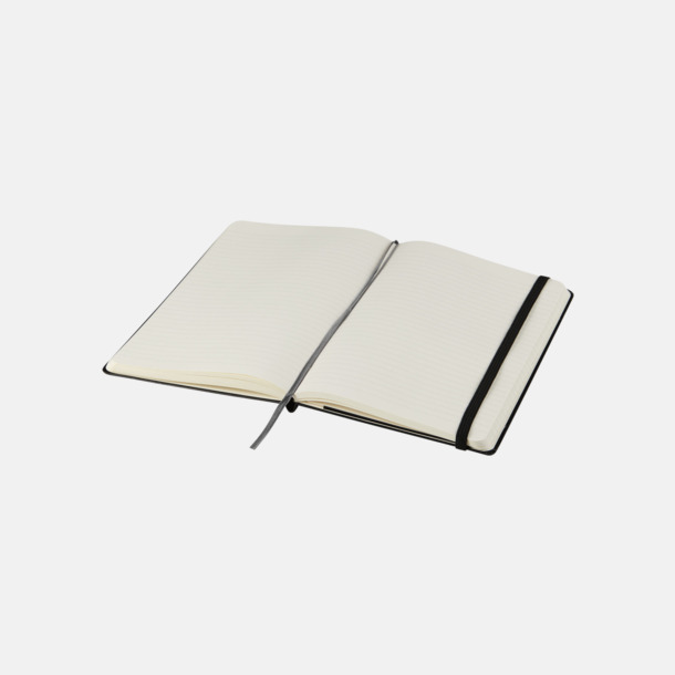 Linjerade sidor (ruled) Moleskine extra stora, mjuka notisböcker i 4 utföranden med reklamtryck