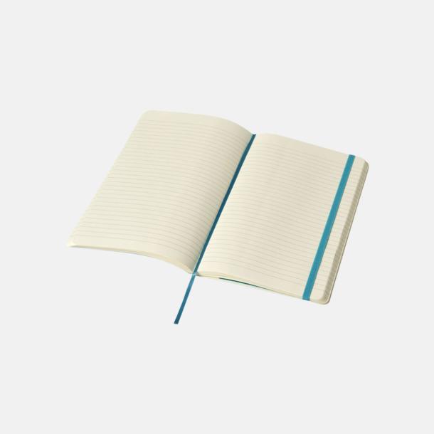 Linjerade sidor (ruled) Moleskine mjuka notisböcker i 4 utföranden med reklamtryck