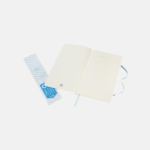 Moleskine mjuka notisböcker i 4 utföranden med reklamtryck