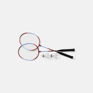 Komplett badmintonset med reklamtryck