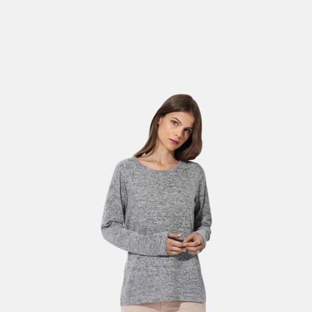 Stickade tjocktröjor med reklamlogo